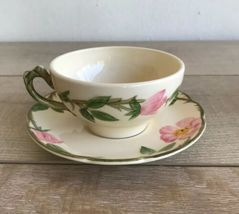 Set 6 Franciscan Desert Rose Tea Cups and Saucers Made in USA image 8