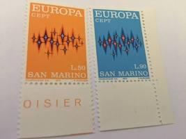 San Marino Europa 1972 mnh stamps  - $1.20