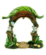 Tropical Welcome Arch, Rain Forest Archway, Island Welcome Arch, Fairy G... - $15.99