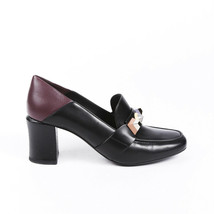 Fendi Studded Leather Loafer Pumps SZ 40.5 - $260.00