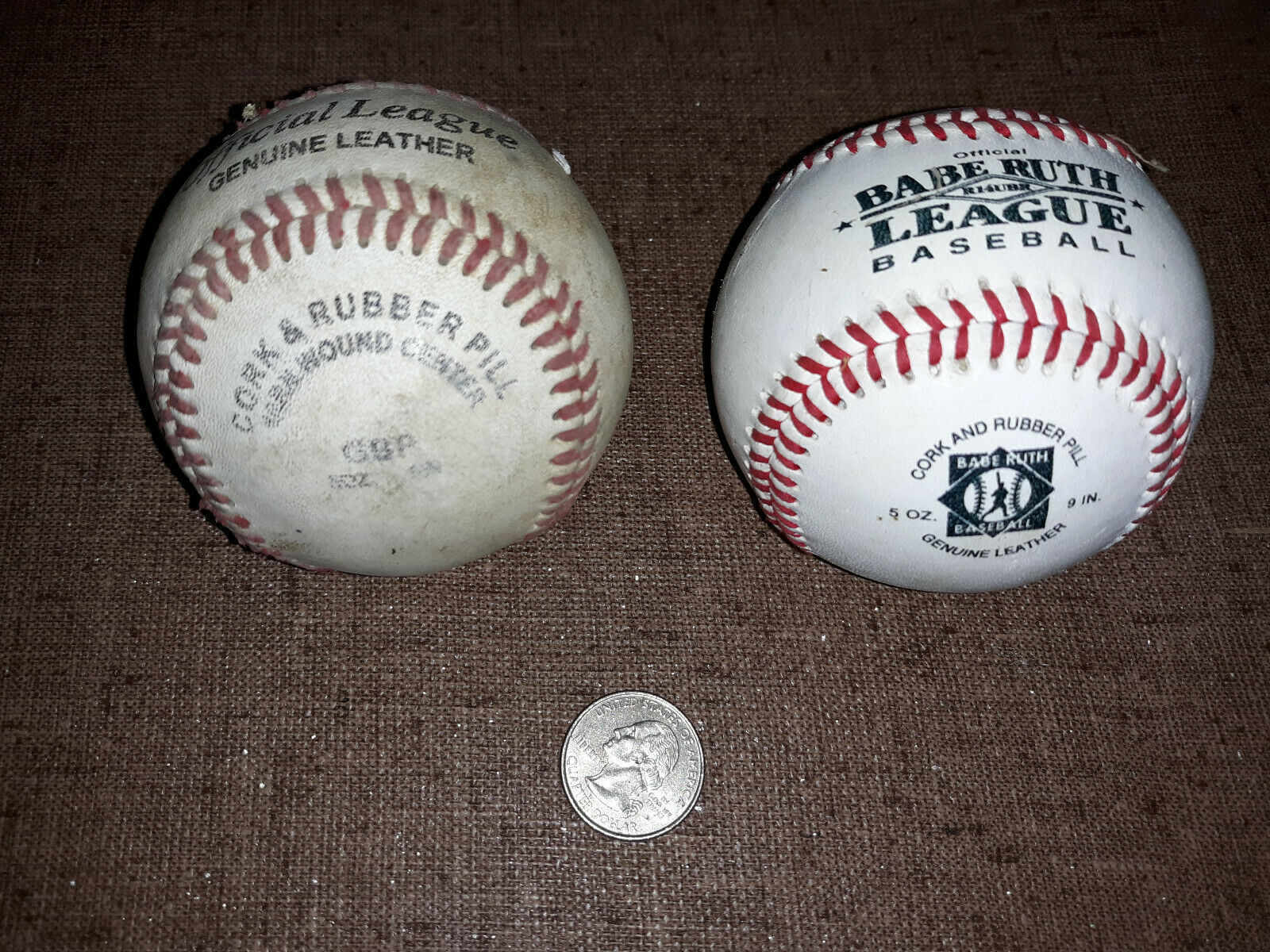 Primary image for 20ZZ40 BASEBALLS, G-FORCE & RAWLINGS, GOOD CONDITION