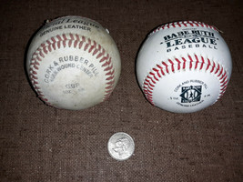 20ZZ40 BASEBALLS, G-FORCE & RAWLINGS, GOOD CONDITION - $7.82
