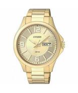 Citizen BF2003-50P Analog Quartz Gold-Tone Stainless Steel Bracelet Men'... - $95.00