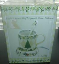 Gift Magic Family & Friends Mug W/ Spoon & Warmer Christmas Collection E... - $19.79