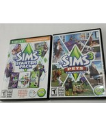 SIMS LOT The Sims 3 Starter Pack & pets 3 PC/Mac - DVD-ROM win mac VERY ... - $17.82