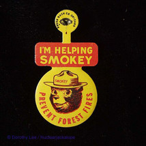 Smokey Bear I'm Helping Smokey Prevent Forest Fires Pin - $14.99
