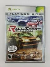 RalliSport Challenge (Microsoft Xbox, 2002) - Complete in Box CIB Tested Working - $5.99