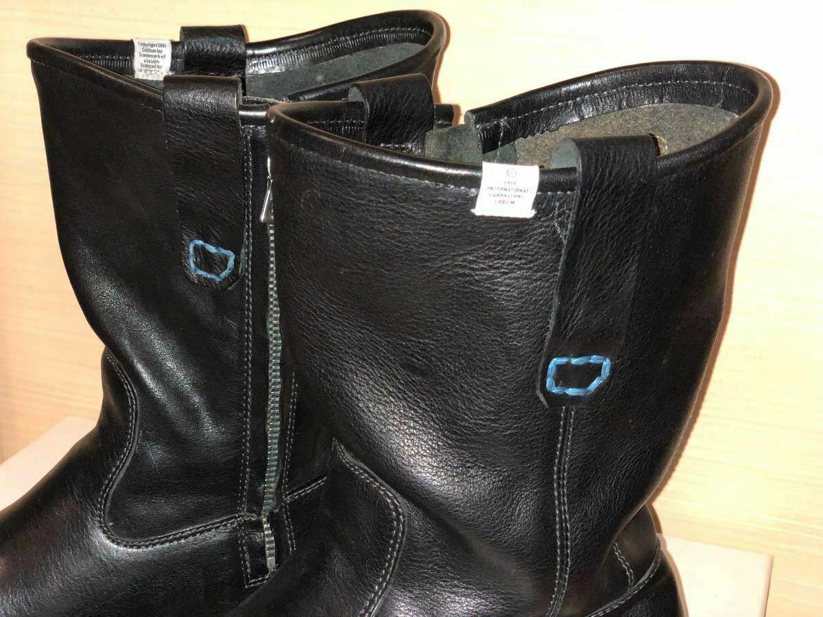 FIL limited 1st model visvim WABANAKI BOOTS-FOLK US8 BLACK Pecos boots image 2