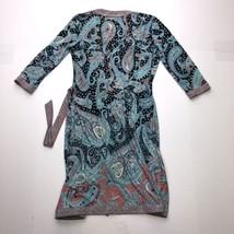 BCBG Maxazria Petites Cardigan 3/4 Sleeve Wrap Dress - $23.74