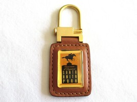 Santa Anita Park Keyring Keychain Pendant Horses Racing Track Leather Ha... - $9.99
