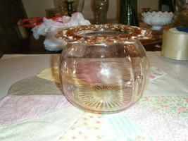 Old Colony Lace Edge Hocking Glass 1935-1938 Candy Dish - $18.00