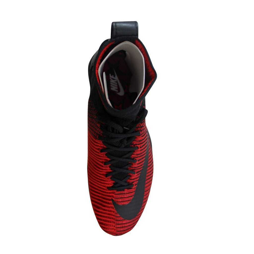 42750764ff2 ... Nike Zoom Mercurial XI 11 Flyknit FC University Red Black-Red 852616-600  ...