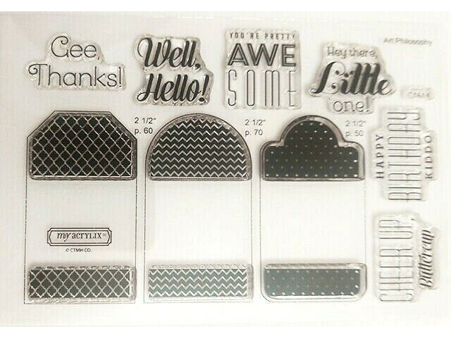 Close to My Heart Tagged with Love Occasions Clear Stamp Set #C1614