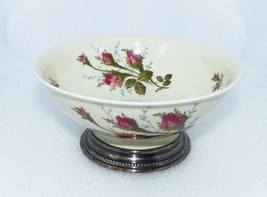 Rosenthal Moss Rose Small Sterling Silver Footed Nut Candy Dish Bowl Ger... - $42.00