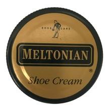 Meltonian Neutral Boot And Shoe Cream Polish 1.55 oz. Jar Used 95% Full - $27.62