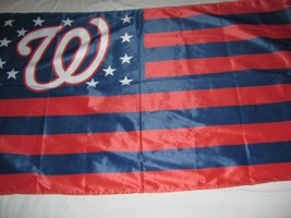 "Washington Nationals 34""x60"" Flag Wall Hanging WinCraft MLB Official Made in USA - $16.82"