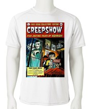 Creepshow Dri Fit graphic T-shirt microfiber retro 80s movie UPF +50 Sun Shirt image 2
