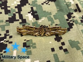 MINI ORIGINAL NAVY Gold Surface Warfare Medical Service Corps insignia Pin Badge - $21.76