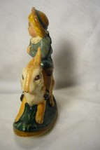 Vaillancourt Folk Art Limited Ed. Boy on Rocking Rabbit signed by Judi! image 2