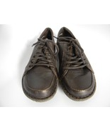 Womens Born Brown Leather Upper Lace up Shoes, Size 6.5 M/W (37) - $31.99