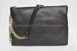 Nwt Michael Michael Kors Jet Set Leather Small Messenger Bag In Black 30S5GTCM3L - $169.00