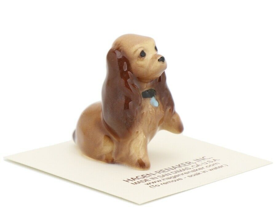 Hagen Renaker Miniature Dog Cocker Spaniel Mama Ceramic Figurine