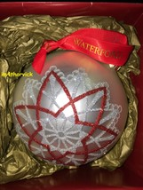 Waterford Holiday Heirlooms Christmas Ornament Starburst Ball 153811 - $59.99
