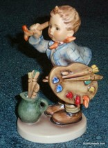 """The Artist"" Goebel Hummel Figurine #304 TMK5 Boy Painting - COLLECTIBLE... - $155.19"