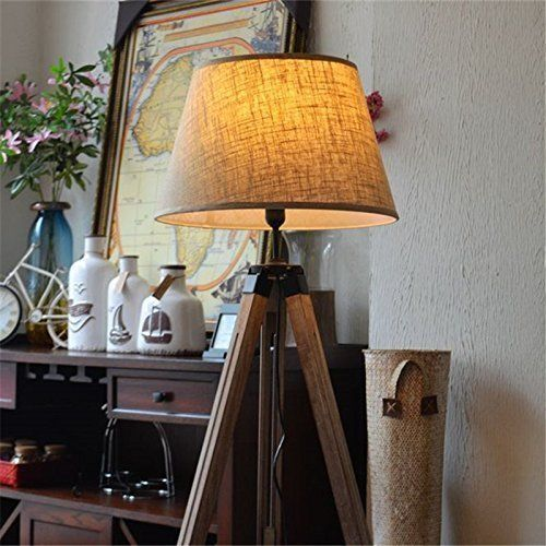 Primary image for Vintage Royal Home Decor Spotlight With Tripod Floor Lamp Stand