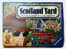 Vintage Scotland Yard Board Game Ravensburger Hunting Mr X German Version - $88.94
