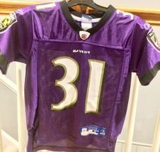 Baltimore Ravens Jamal Lewis #31 Reebok On Field Jersey Child Small (8) EUC - $12.99