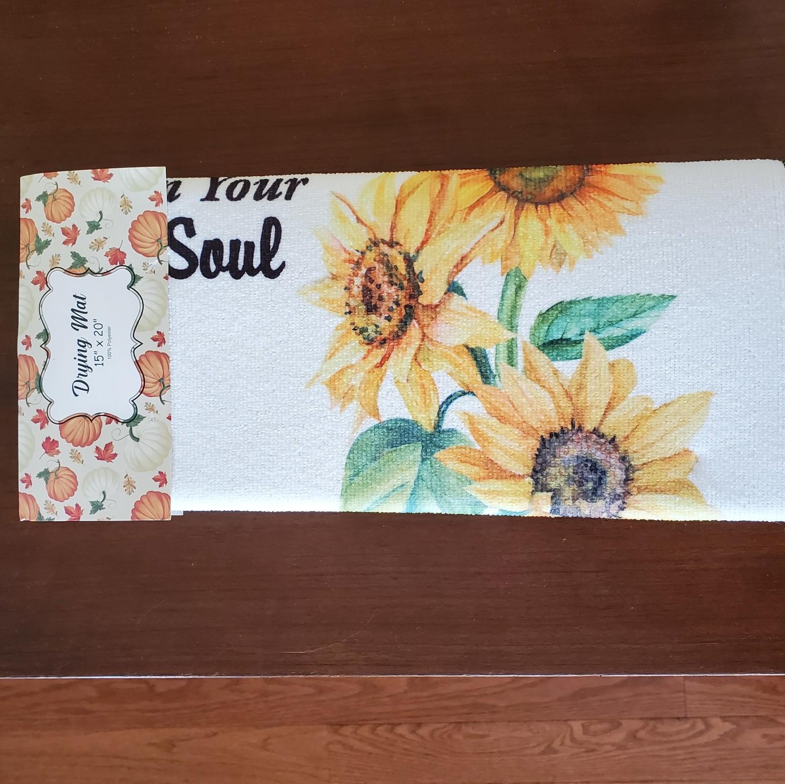 Sunflower dryingmat 1
