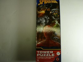 Marvel Spider-man 50-Piece Tower Puzzle 5 x 18.8 IN New - $10.88