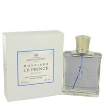 Monsieur Le Prince Elegant by Marina De Bourbon Eau De Parfum  3.4 oz, Men - $46.12
