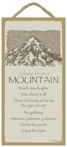 Advice from a Mountain wood plaque- officially licensed from Your True N... - $12.86
