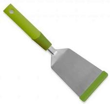 Kuhn Rikon Silicone SoftEdge Stainless Steel Teppanyaki Spatula, Green - $26.95