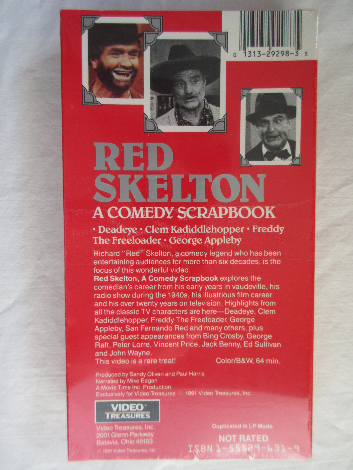 Red Skelton - A Comedy Scrapbook (VHS, 1991) New Sealed