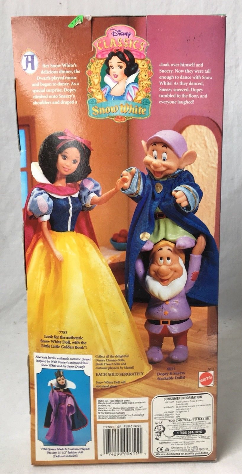 Disney Snow White and the 7 Dwarfs Dopey and and 37 similar