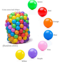 NEW! Baby Kids Toy Pit Game Soft Plastic Ball 5.5cm 500 pcs US   - £37.14 GBP