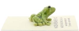 Hagen-Renaker Miniature Ceramic Frog Figurine Tiny Papa Frog, Baby and Tadpole image 8