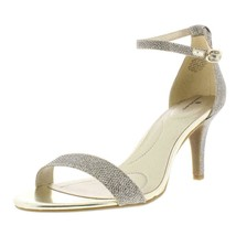 Bandolino Womens Madia Gold Pumps Dress Sandals Shoes 9 Medium - $34.65