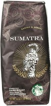 Starbucks Sumatra Blend Whole Bean Coffee 1lb Bag Sealed New Fast Ship - $18.95
