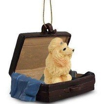 Apricot Poodle Traveling Companion Dog Ornament - $13.99