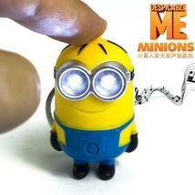 Popular new arrive Despicable me 3 minion Keychain,Led keychain,cute fla... - $48.60