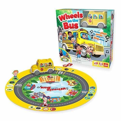 "Pressman 8537 Wheels On The Bus Board Game Plays Song While You Sing Along, 5"" Y - $38.92"