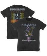 New BOB SEGER & THE SILVER  ULLET BAND  LICENSED CONCERT BAND  T Shirt   - $21.99