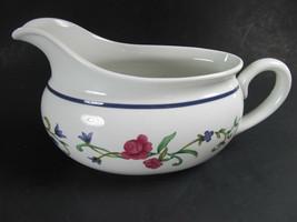 Lenox  Casual Images Rose Garden Gravy Boat Pristine Condition - $19.59