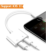 Apple iPhone 8/7/X Charger Port Audio Earphone Adapter Aux Music Player ... - $13.41