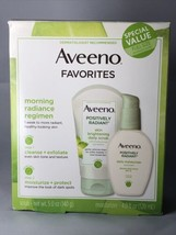 Aveeno Favorites from Positively Radiant Daily Scrub & Moisturizer Value... - $17.64