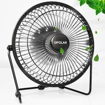 Desktop USB Fan, Enhanced Airflow, Low Noise, Metal Design, Personal Min... - $28.09